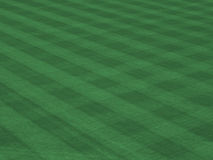 Major League Turf with Mow Lines Stock Photos
