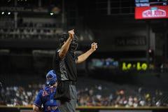 Major League Umpire stock fotografie