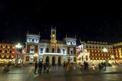 Major Plaza of Valladolid Stock Photos