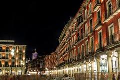 Major Plaza of Valladolid Stock Photo