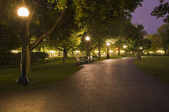 Majors Hill Park at dusk, Ottawa, Ontario, Canada Royalty Free Stock Photography