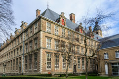 Major Seminary in Bruges, Belgium. Major Seminary in the UNESCO World Heritage Old Town of Bruges, Belgium Stock Image