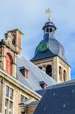 Major Seminary in Brugge, België royalty-vrije stock foto