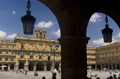 Major Square. Salamanca, Spain Stock Photo