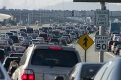 Major Traffic Jam 1 Royalty Free Stock Photo