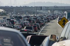 Major Traffic Jam 2 Royalty Free Stock Photos
