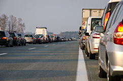 Major Traffic Jam Stock Photos