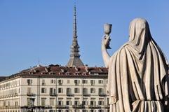 Major Turin's symbol, Mole Antonelliana Royalty Free Stock Photos