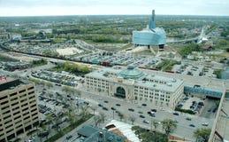 Major Winnipeg Landmark Architecture Royalty Free Stock Images