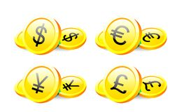 Major world currencies Royalty Free Stock Image