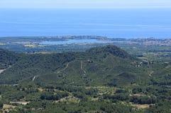 Majorca南海岸  免版税库存照片