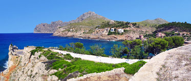 Majorca, πανόραμα Στοκ Εικόνες