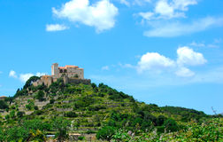 Majorca. Old castle in arta on the island mallorca spain stock photos