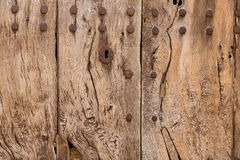 Majorca aged wooden door texture Mallorca Stock Photo