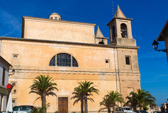 Majorca Alqueria Blanca Felanitx church Mallorca Stock Photo