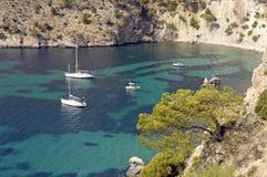 Majorca/bahía mediterránea Fotos de archivo libres de regalías