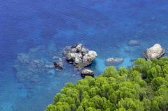 Majorca/bahía mediterránea Foto de archivo libre de regalías