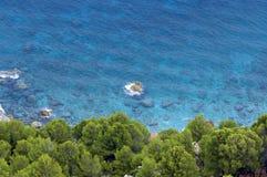 Majorca/bahía mediterránea Fotografía de archivo libre de regalías