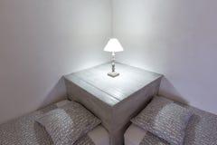 Majorca Balearic indoor house in Balearic Mediterranean style Royalty Free Stock Photos