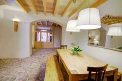 Majorca Balearic indoor house in Balearic Mediterranean style Stock Photography