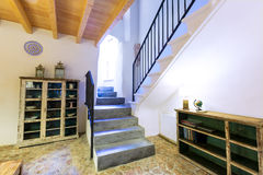 Majorca Balearic indoor house in Balearic Mediterranean style Stock Photo