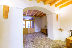 Majorca Balearic indoor house in Balearic Mediterranean style Royalty Free Stock Image