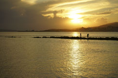 Majorca beach Stock Image