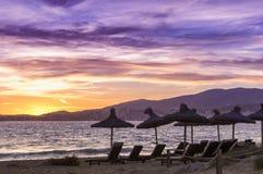 Majorca beach Stock Photography