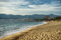 majorca beach Royalty Free Stock Photography