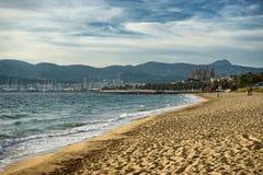 majorca beach Royalty Free Stock Photography