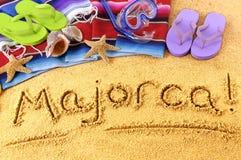 Majorca beach Stock Images