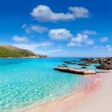 Majorca Cala Agulla beach in Capdepera Mallorca Royalty Free Stock Photography