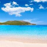 Majorca Cala Agulla beach in Capdepera Mallorca Stock Image