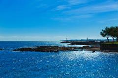 Majorca Cala Bona beach Son Servera Mallorca Stock Photography