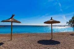 Majorca Cala Bona beach Son Servera Mallorca Royalty Free Stock Image