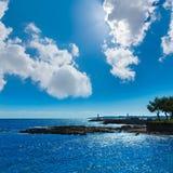 Majorca Cala Bona beach Son Servera Mallorca Royalty Free Stock Photography