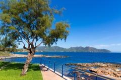Majorca Cala Bona beach Son Servera Mallorca Stock Image