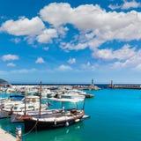 Majorca Cala Bona marina Son Servera Mallorca Stock Photography