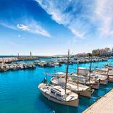 Majorca Cala Bona marina Son Servera Mallorca Royalty Free Stock Photos