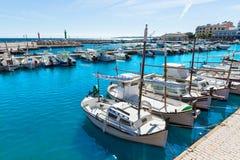 Majorca Cala Bona marina Son Servera Mallorca Stock Images