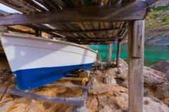 Majorca Cala Figuera beach of Formentor Mallorca Stock Photo