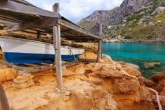 Majorca Cala Figuera beach of Formentor Mallorca Stock Image