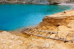Majorca Cala Figuera beach of Formentor Mallorca. Majorca Cala Figuera beach of Formentor in Mallorca Balearic island of Spain Royalty Free Stock Photography