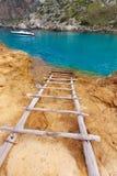 Majorca Cala Figuera beach of Formentor Mallorca Royalty Free Stock Photo