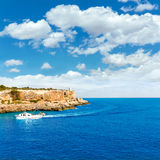 Majorca Cala Figuera in Santanyi Mallorca Balearic. Islands of spain Royalty Free Stock Photography