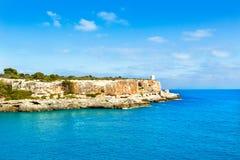 Majorca Cala Figuera in Santanyi Mallorca Balearic. Islands of spain Stock Photos