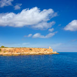 Majorca Cala Figuera in Santanyi Mallorca Balearic Stock Image