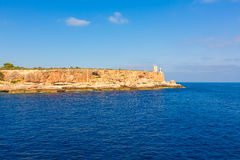 Majorca Cala Figuera in Santanyi Mallorca Balearic. Islands of spain Stock Image