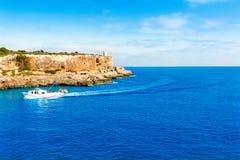 Majorca Cala Figuera in Santanyi Mallorca Balearic. Islands of spain Royalty Free Stock Image