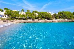 Majorca Cala Gran Dor beach in Mallorca Santanyi Stock Photo